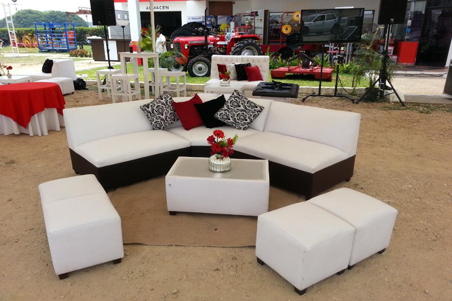 Renta de muebles lounge. Basco Lounge Villahermosa Tabasco.